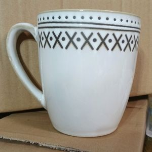 NIB (2) THRESHOLD STONEWARE CHINA MUGS